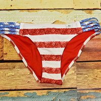 Stars & Stripes Classic String Bottom 3612