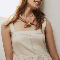 UO Beckett Square-Neck Peplum Cami   Urban Outfitters