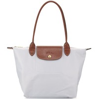 NWT Longchamp Le Pliage Medium Tote Bag Pearl Gray Grey SEALED
