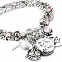 Wizard of OZ Good Witch Charm Bracelet