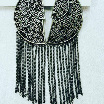 Fringe Warrior Earrings