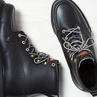 "AEO 's Thorogood 6"" Moc Toe Boot (Black)"