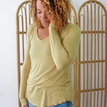 Feel Good Top - Flax