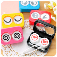 Googly Eyes Contact Lens Travel Case