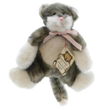 Boyds Bears Plush CALLAWAY FLATCAT Fabric Cat Attic Flatsie 5695106