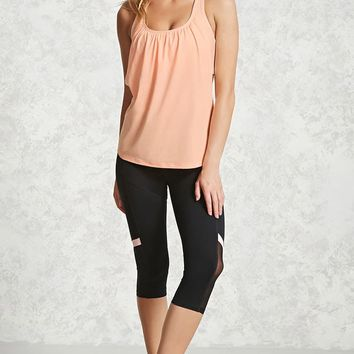 Active Mesh Twofer Top