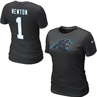 Nike Carolina Panthers Cam Newton Women's Name & Number T-Shirt - Dick's Sporting Goods