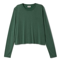 Weekday | Tops | Cropped Long Sleeve T-Shirt
