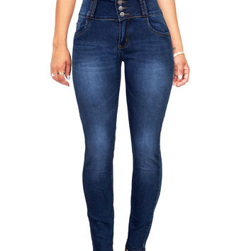 Lifted High Waist Skinny Jeans
