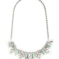ModCloth Statement Retrospective Reception Necklace