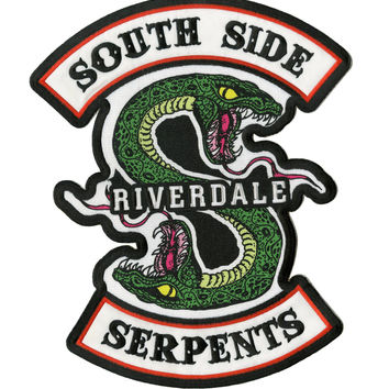 Riverdale Giant Serpent Back Patch