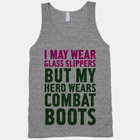 Glass Slippers & Combat Boots