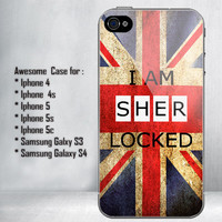 I Am Sherlocked for iPhone 4/4S/5/5S/5C and Samsung Galaxy S3/S4