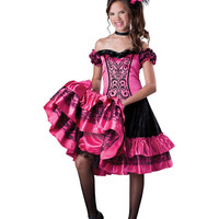 Can Can Girls Costume – Spirit Halloween