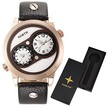 Rose Gold Wrist Watch Men 2017 Top Brand Luxury Famous Male Clock Quartz Watch with box Wristwatch Quartzwatch Relogio Masculine