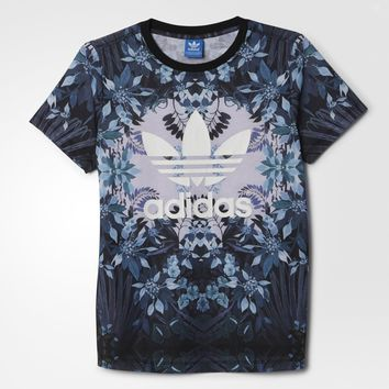 adidas Romantic Woods Tee - Multicolor | adidas US