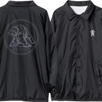 Grizzly Arena Coaches Jacket XLarge Black