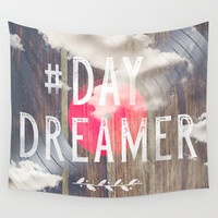 DayDreaming Wall Tapestry by HappyMelvin