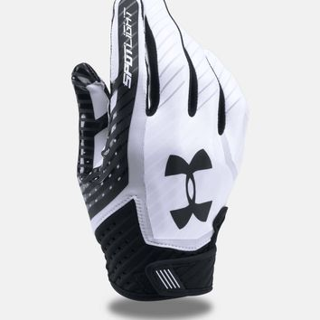 Under Armour Men's UA 2017 Spotlight Adult Football Receivers Gloves