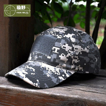 HAN WILD 10Style Snapback Camouflage Tactical Hat Army Tactical Baseball Cap Unisex ACU CP Desert Cobra Camo Camouflage Hats