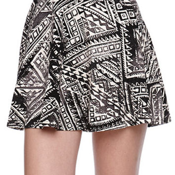 LA Hearts Tribal Skater Skirt at PacSun.com