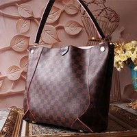 LV Louis Vuitton MONOGRAM CANVAS TOTE BAG SHOULDER BAG