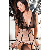 Cute Sexy On Sale Hot Deal Socks Set See Through Wrap Lace Exotic Lingerie [6595686851]