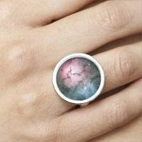 Galaxy stars nebula space hipster star photo ring