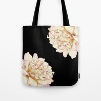 Roses - Lights the Dark Tote Bag by drawingsbylam
