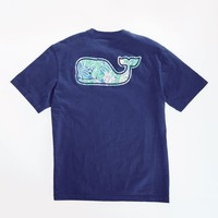 Tropical Leaves Whale T-Shirt