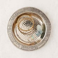 Etched Round Catch-All Dish