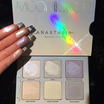 Anastasia GLOW KIT MOONCHILD 6 Colors SUN DIPPED SWEETS+FREE KYLIE DOLCE K