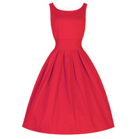 2016 Pin Up Vestidos XS-3XL 4XL Plus Size Women Summer Retro Red Party Wedding Club Rockabilly Vintage 50s Dresses