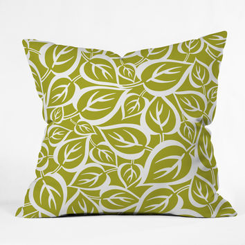 Heather Dutton Falling Foliage Outdoor Throw Pillow