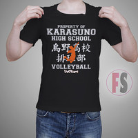 Property of Karasuno High School Volley Ball Haikyuu AllukaArtTees Unisex Adult Tees