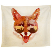 Big Town Fox Tapestry