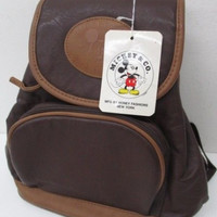 Vintage Disney MICKEY & CO Mickey Mouse Rucksack (VHTF)!