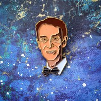 Science Guy Enamel Lapel Pin / Brooch
