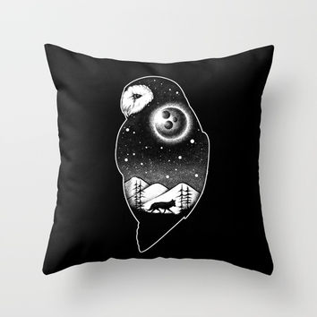 Wild night life 2 Throw Pillow by Angoes25