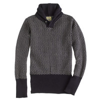 J.Crew Mens North Sea Clothing Victory Shawl-Collar Sweater
