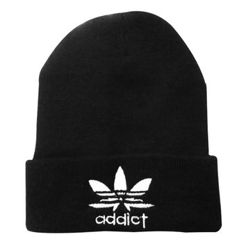 Addict - Beanie Exclusive BN-077 - Black