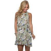 Fresh Floral Shift Dress