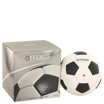 Offensif Soccer Eau De Toilette Spray By Fragrance Sport For Men