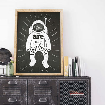 Astronaut Painting Poster Art Print Canvas Print Wall Decor Canvas Poster Print Digital Print Designer Art Painting Wall Art Home Gift
