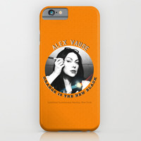 Alex Vause - OITNB Character iPhone & iPod Case by Sandi Panda