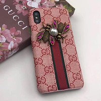 GUCCI Fashion iPhone Phone Cover Case For iphone 6 6s 6plus 6s-plus 7 7plus 8 8plus iPhone X XR XS XS MAX