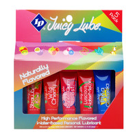 ID Juicy Lube 12g Assorted Tubes 5 Pack