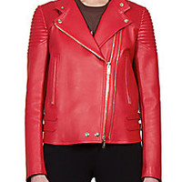 Givenchy - Nappa Leather Moto Jacket - Saks Fifth Avenue Mobile