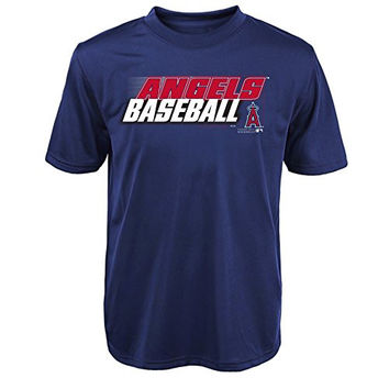 "MLB  Los Angles Angels Youth Boys 8-20 ""Kinetic Team & City"" Tee-S (8)"