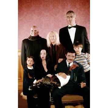 Addams Family Poster Standup 4inx6in